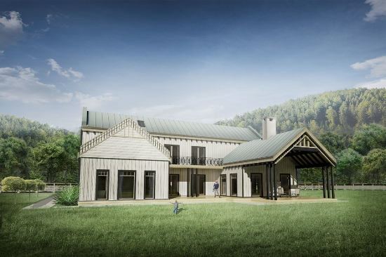 farmhouse house plan designs | houseplans llc.