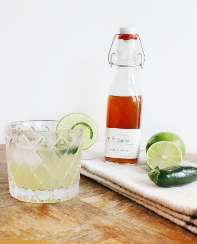 farm to glass cocktail series: spicy margarita | la petite farmhouse
