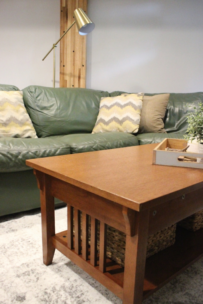 cozy farmhouse modern style basement design | la petite farmhouse