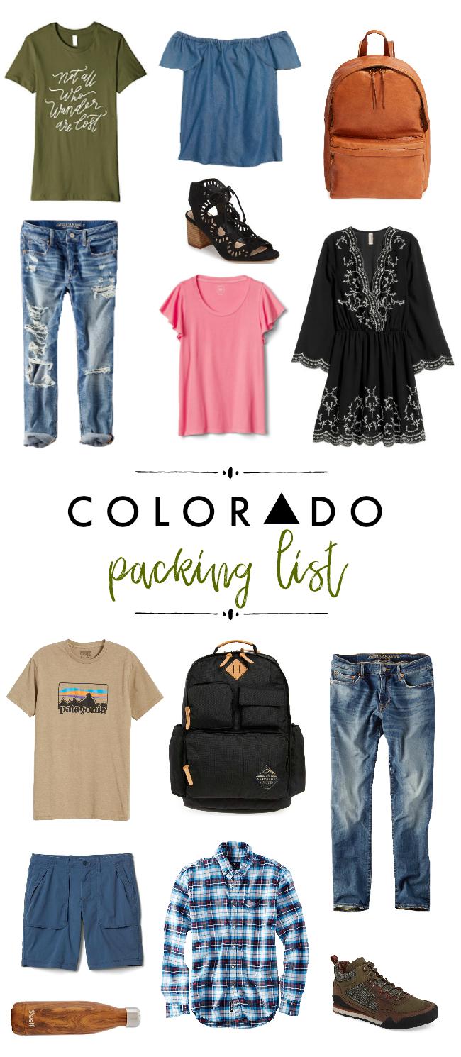 Colorado Packing List | La Petite Farmhouse