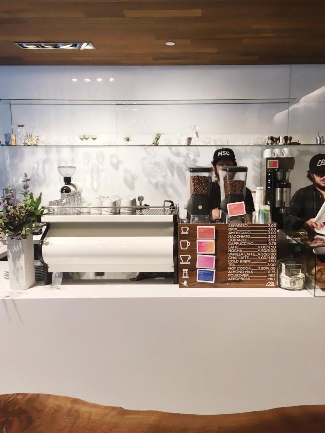 Little Owl Coffee Shop in Denver, Colorado