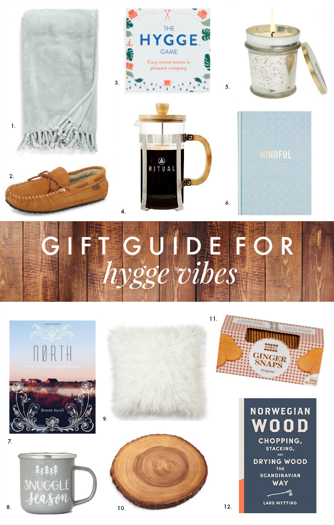 Holiday Gift Guide for: Hygge Vibes