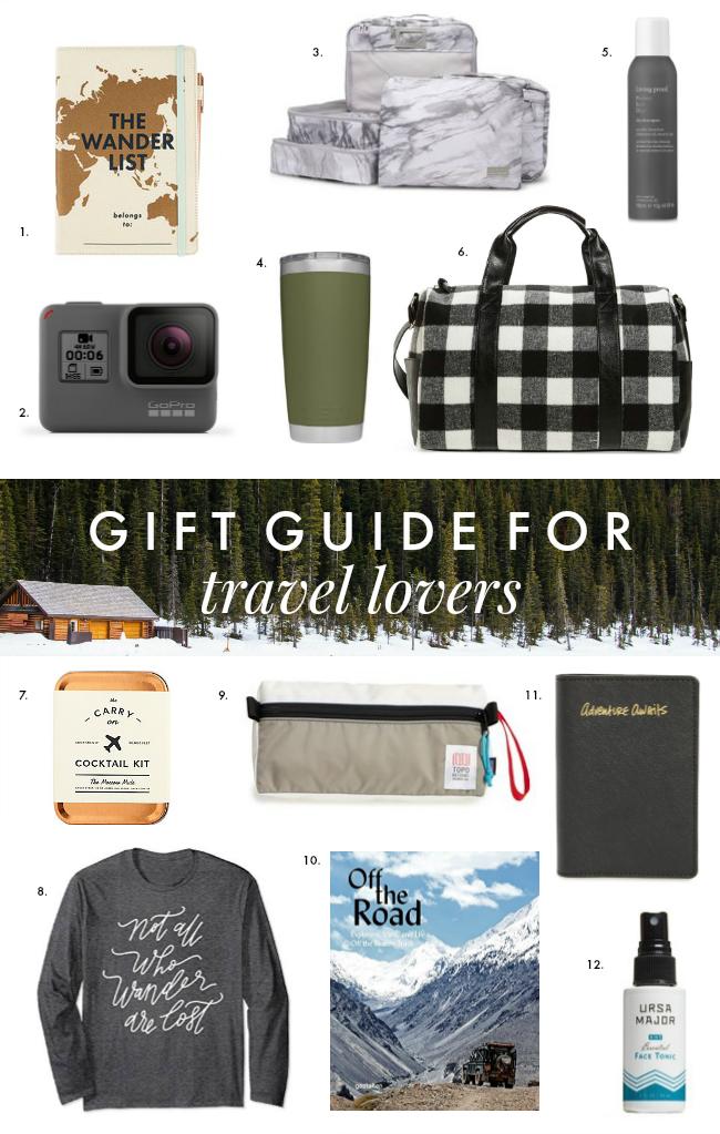 gift guide for travel lovers - la petite farmhouse