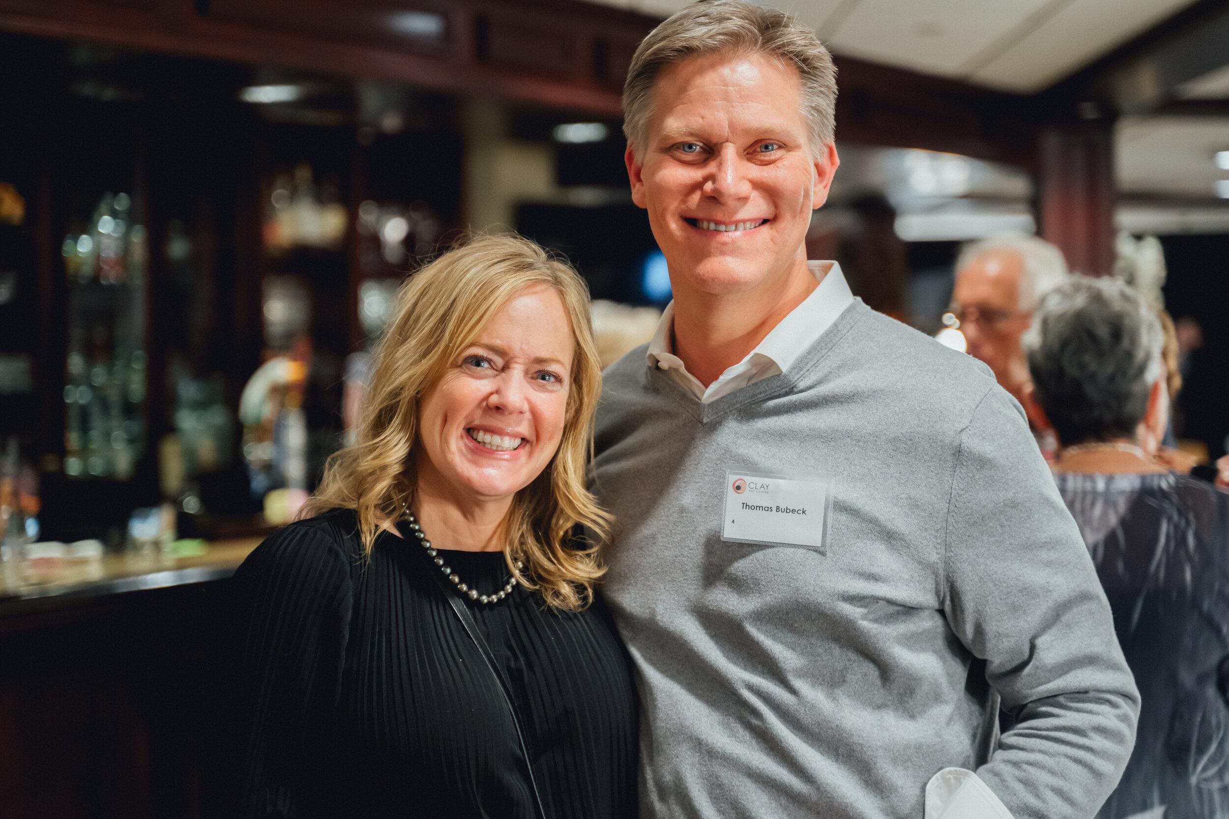Clay Art Center Annual Benefit 2019 Mr. & Mrs. Thomas Bubeck.jpg
