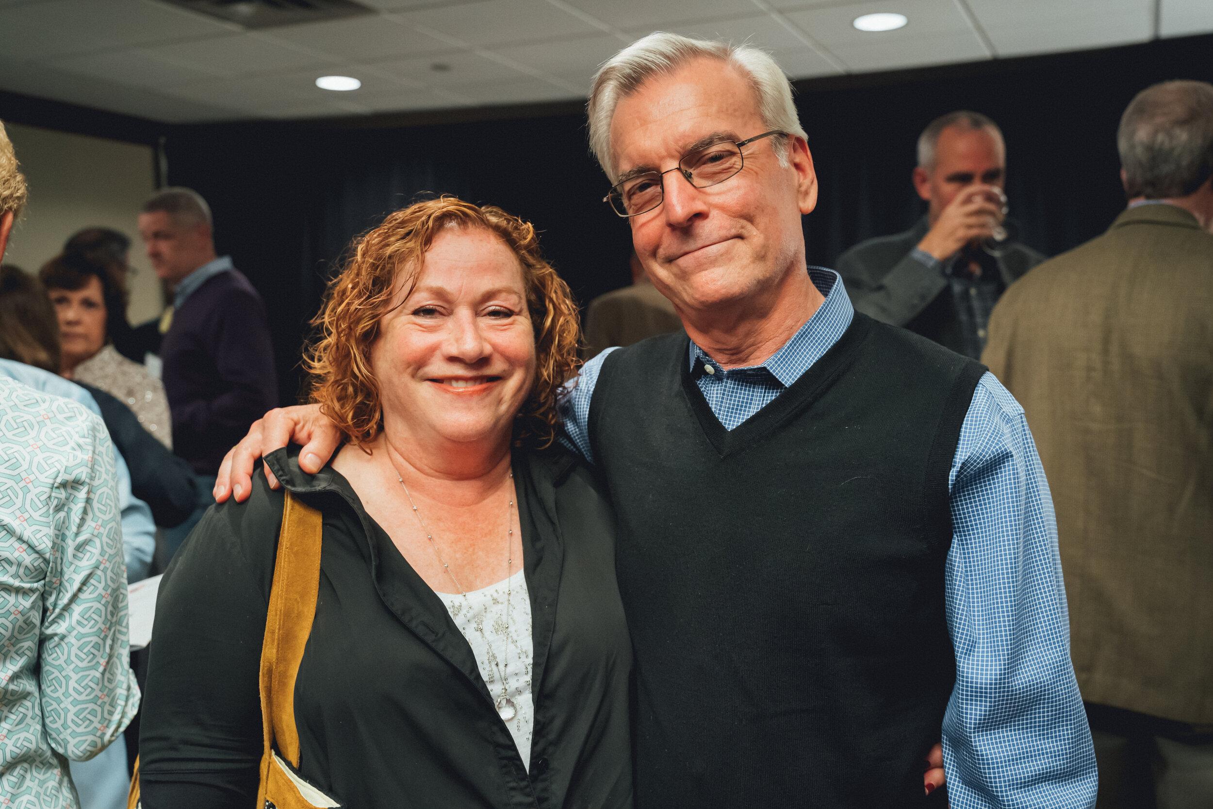 Clay Art Center Annual Benefit 2019 Peter & Kathi Arnow.jpg