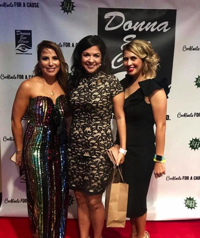 JLH Members: Christina Araguz, Amy Muniz &  Veronica Muniz
