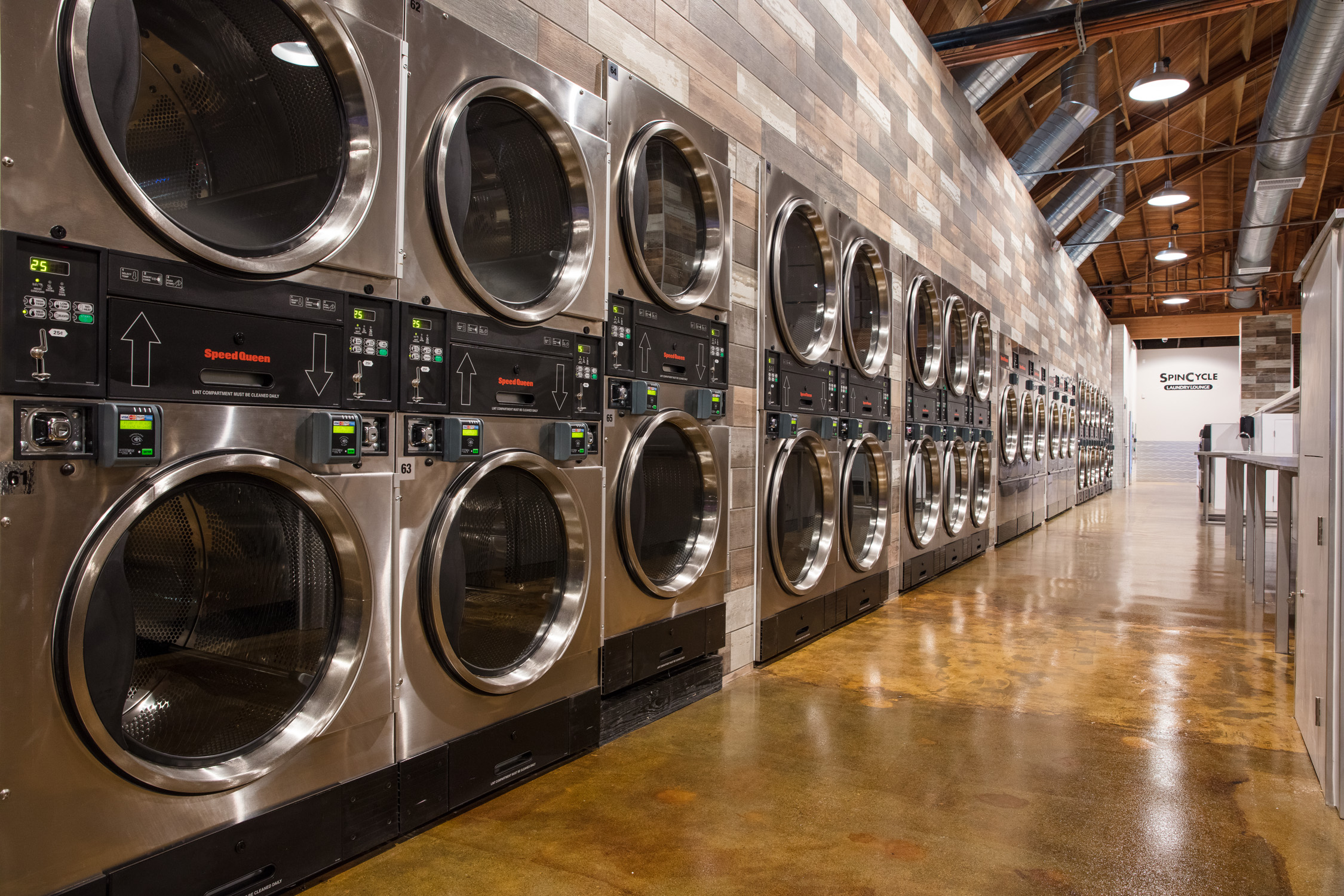 Stack dryers