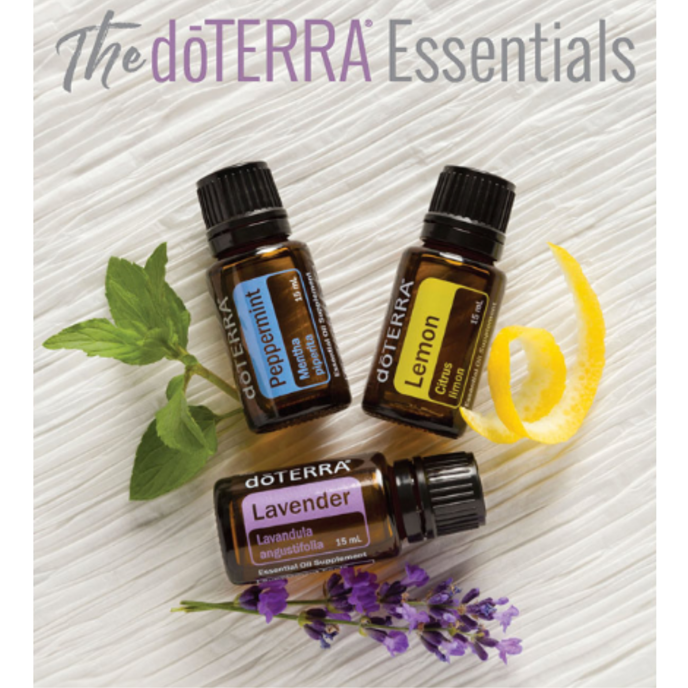Essential Oils - I have personally used Doterra essential oils for over 5 years, not just for myself but for my family and children. If you have received a recommendation to try essential oils to help manage your health concerns, you can purchase by clicking the link below.