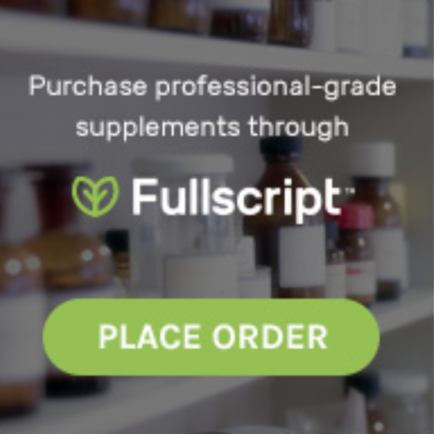 Fullscript - This is the store for most of our supplement recommendations, including:MetagenicsDesigns for HealthPure EncapsulationsKlaire Labs