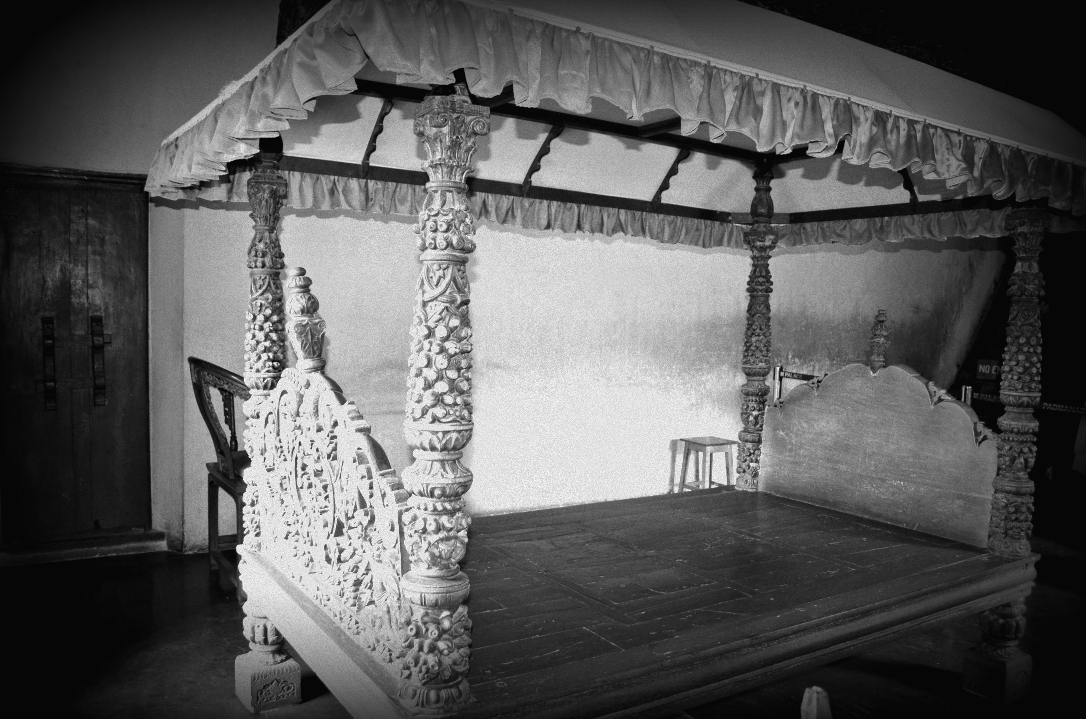 Bed, Padmanabhapuram Palace, Tamil Nadu