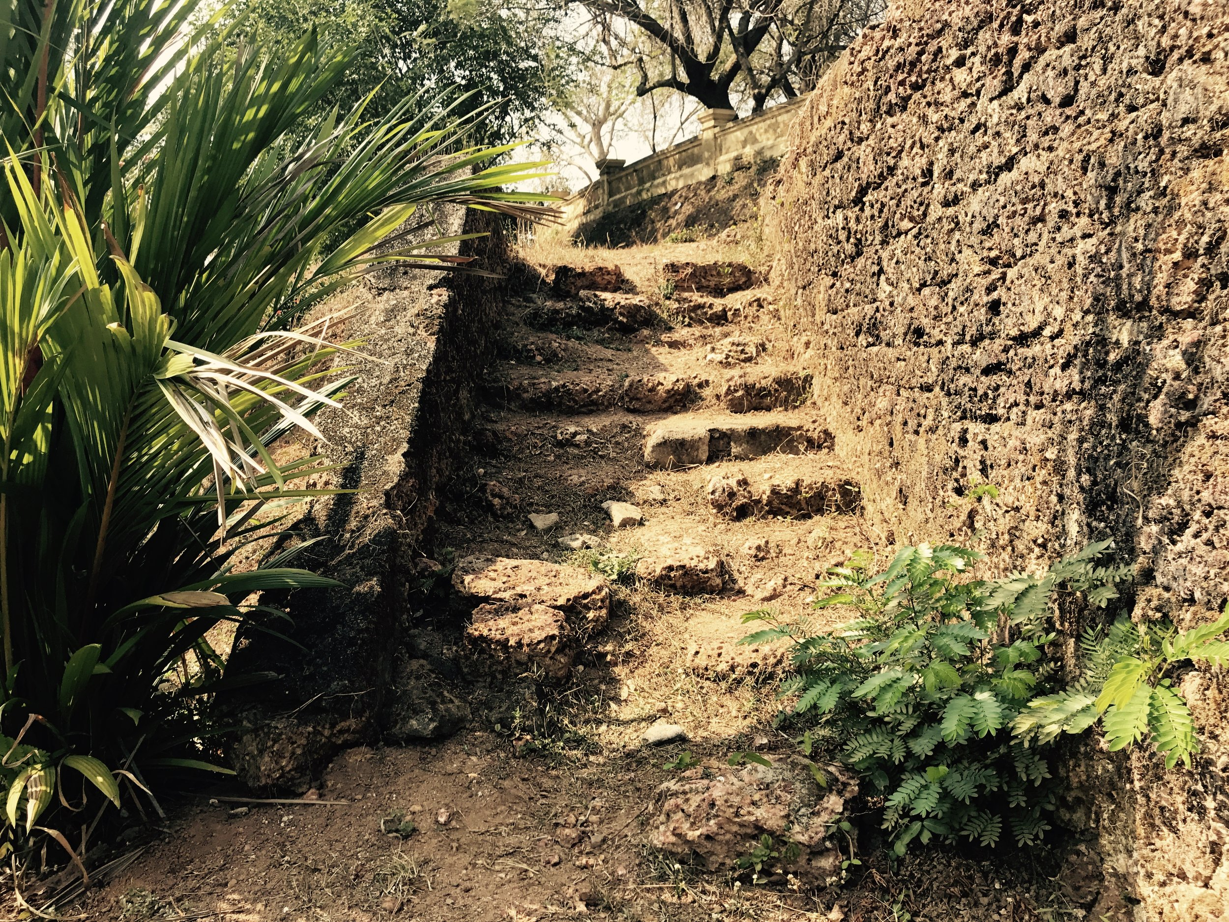 Stairway Leading to the Hideout