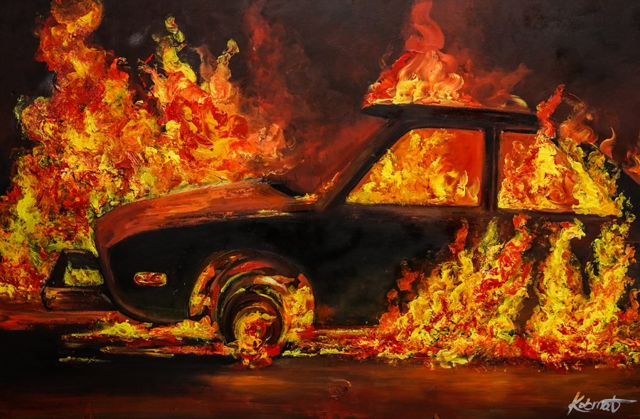 Set My Drive On Fire