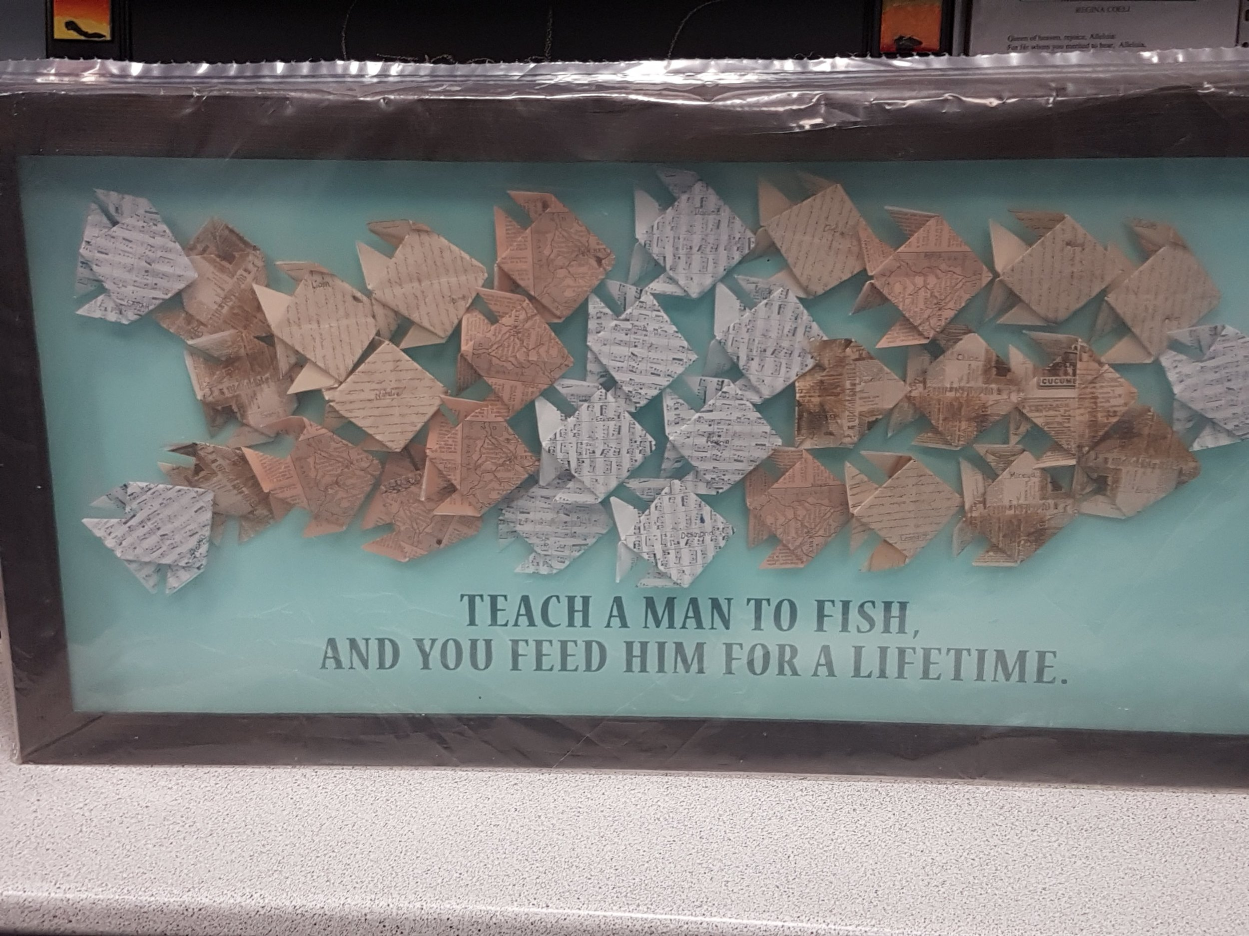 Grade 5 - origami fish