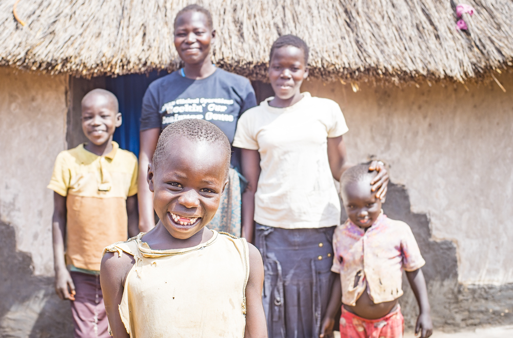 Ben visited this family, and several others, during his visit to Adjumani. Hearing their stories brought home the extent to which trauma focused rehabilitation can restore hope to a home.