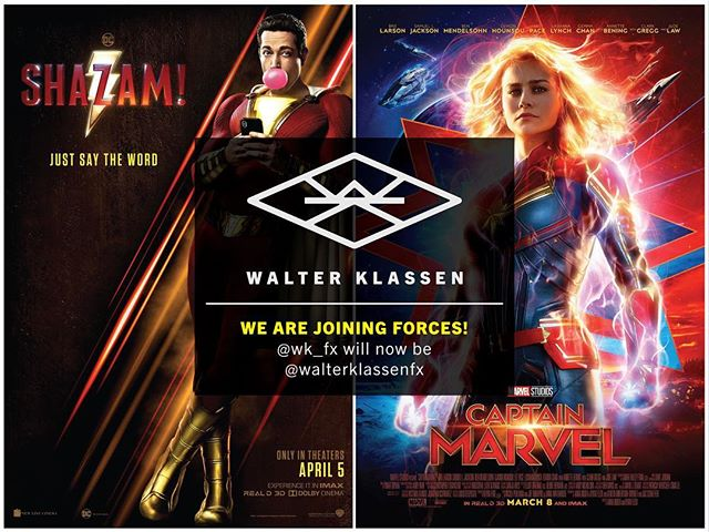 Walter Klassen FX has been supporting the film industry for over 30 years. We custom build props, costumes, and set pieces for films like @shazammovie while simultaneously crafting specialized camera stabilizing equipment, like our SlingShot rig, used in @captainmarvelofficial  We are now consolidating the @wk_fx Instagram account with @walterklassenfx to better show the diversity of the shop and our commitment to building quality pieces both in front of and behind the camera.  #shazam #captainmarvel #walterklassen