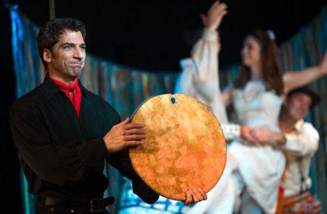 Michael Sharon as El Gallo in  The Fantasticks .