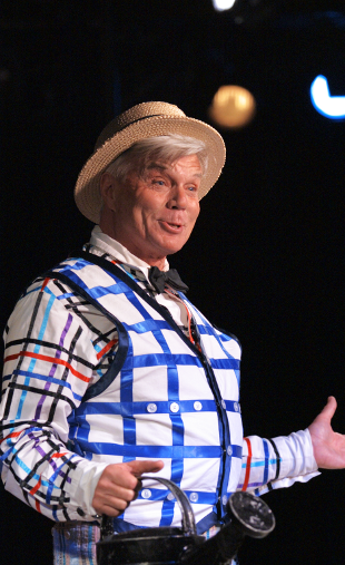 John Davidson as Bellomy in  The Fantasticks .