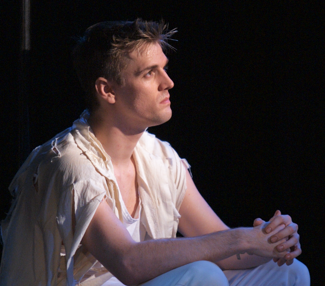 Aaron Carter as Matt in  The Fantasticks .