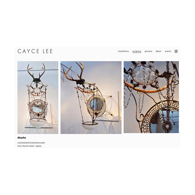 intern // new website www.cayceleestudio.com