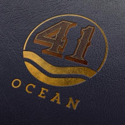 41 Ocean menu leather logo mock small.jpeg