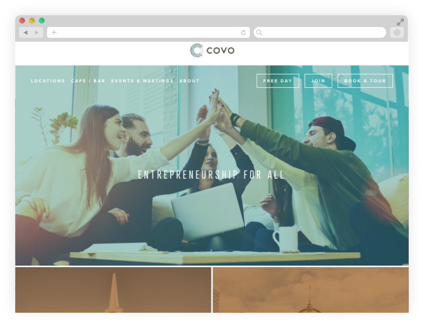 The New Covo Website