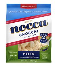 Nocca Pesto Gnocchi