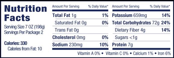 nocca truffle nutrition