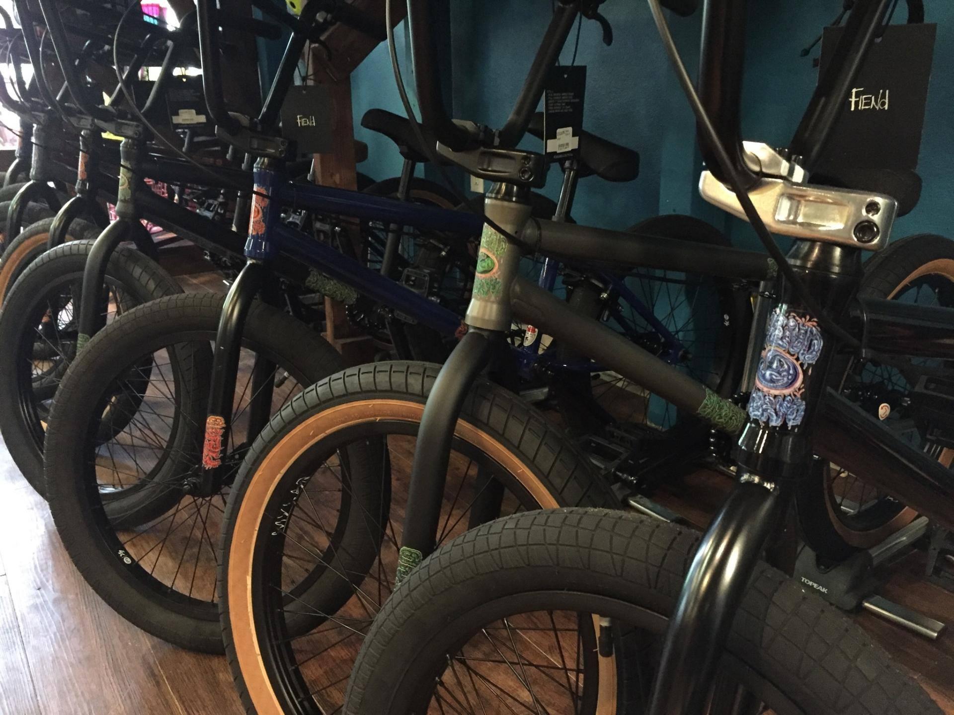BMX Bikes from Kink, Subrosa & Fiend