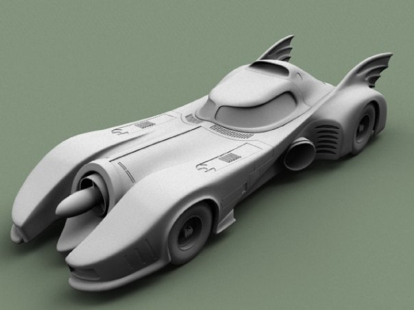 1989 Burton Batmobile