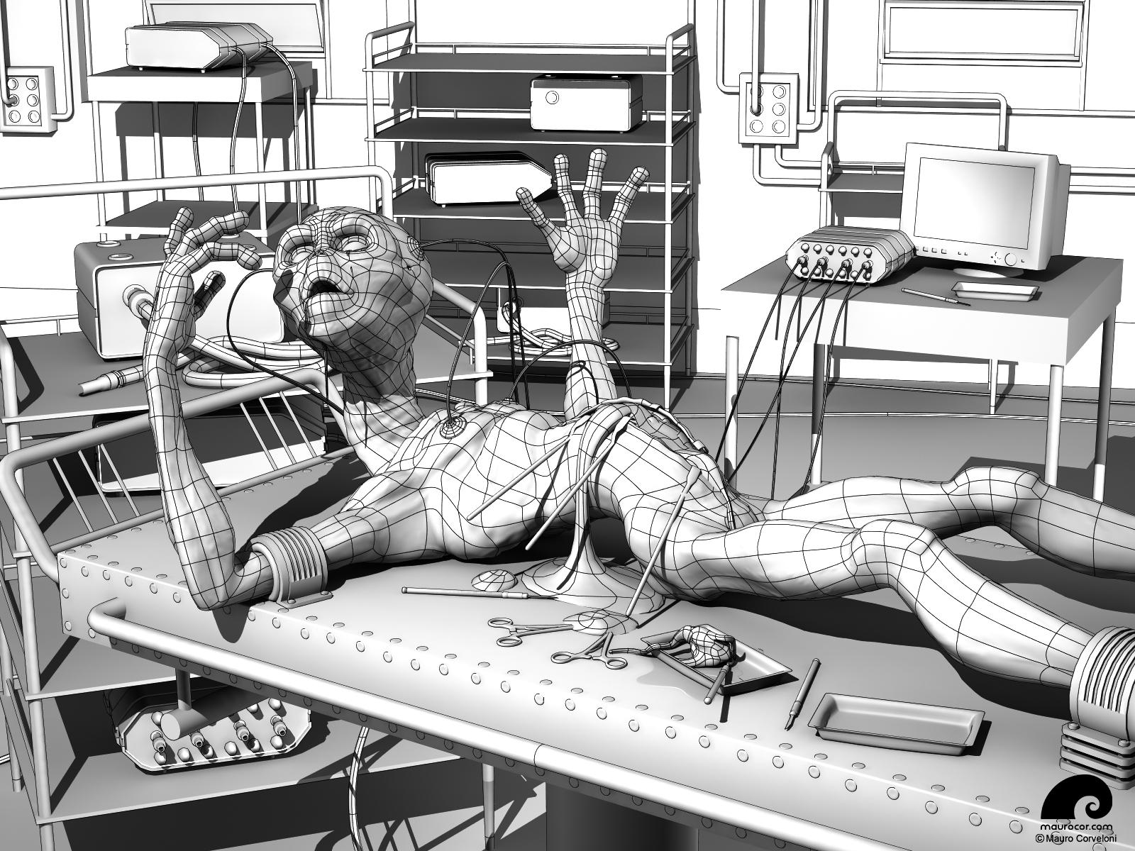 Dissected Alien