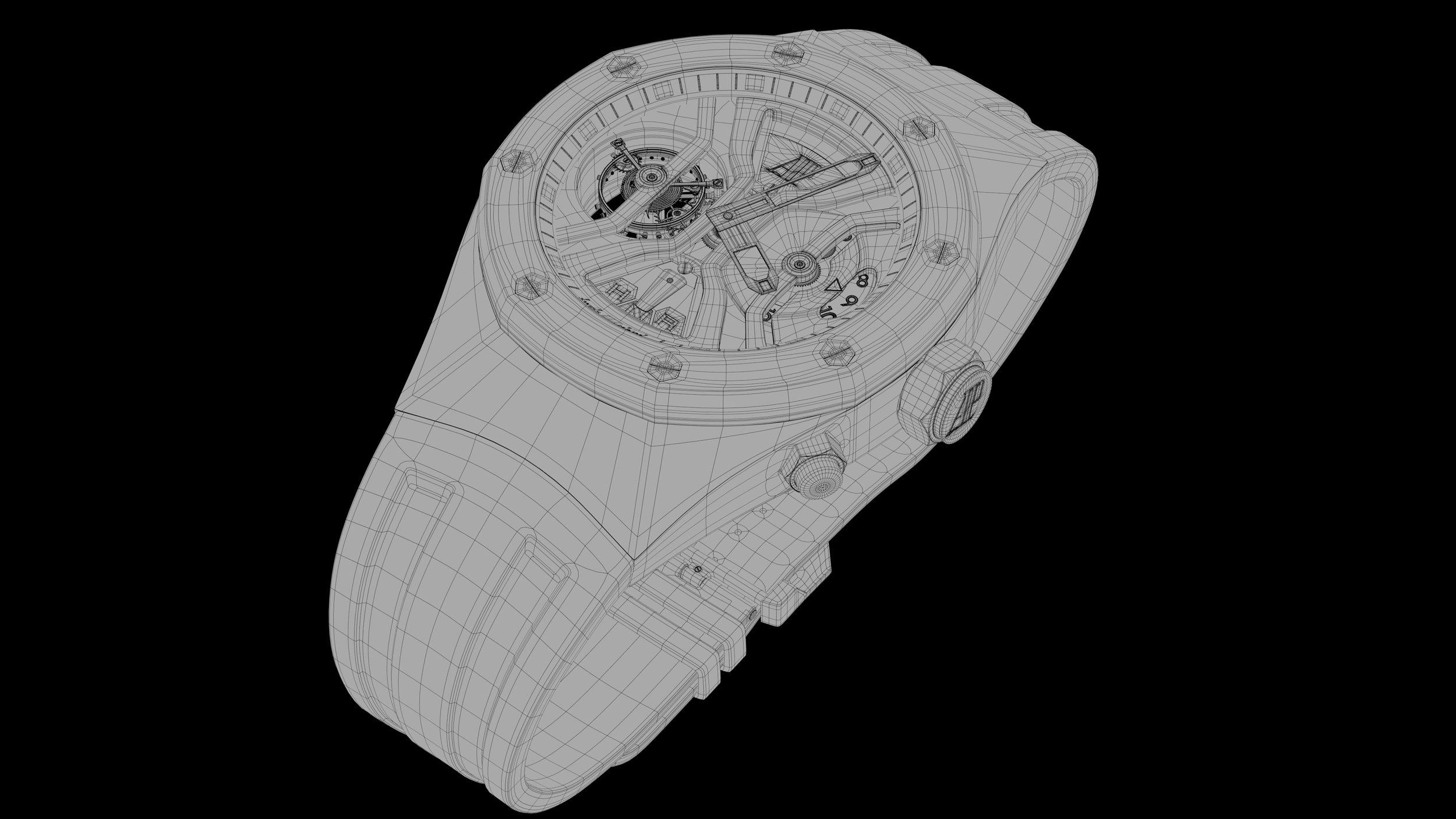 Audemars Piguet Royal Oak Concept GMT Tourbillon Wrist Watch