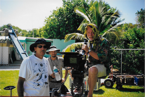 "These were some of the instrumental people in my decision to study the camera.  Joachim was the DP on ""Unser Charles"" and Brian Watson (Gaffer), who came off gruff but was always mentoring.  I respected the hell out of him."