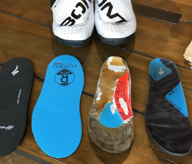 Retül Custom Insoles - $199Cycling-specific insoles that increase your comfort and stability on the bike.Evaluation of current shoes, cleat position and foot structureFull longitudinal arch capture for better weight distributionFull customization to your feet and molding on-site