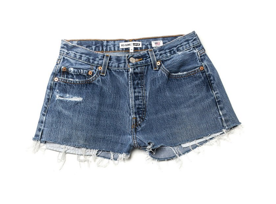REDONE SHORTS   Everyone needs a good pair of jean shorts. Whats better than a pair of vintage Levis with a little REDONE magic.
