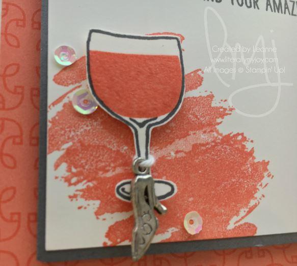 High Heel Wine Charm.JPG