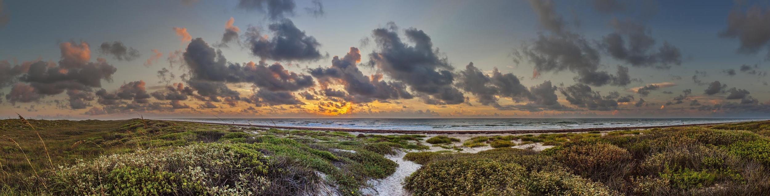 Texas Gulf Coast Sunrise, 2015 ed.jpg
