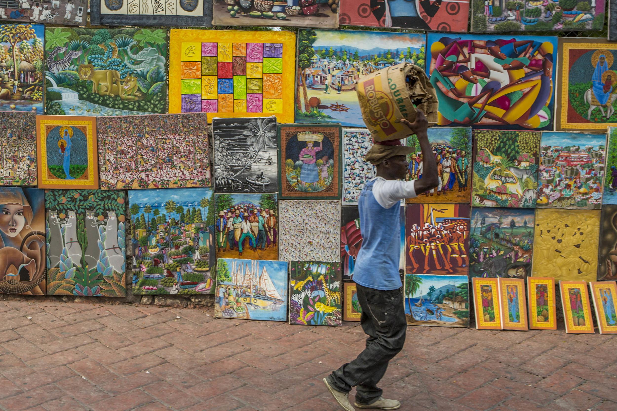 Port Au Prince art show.jpg
