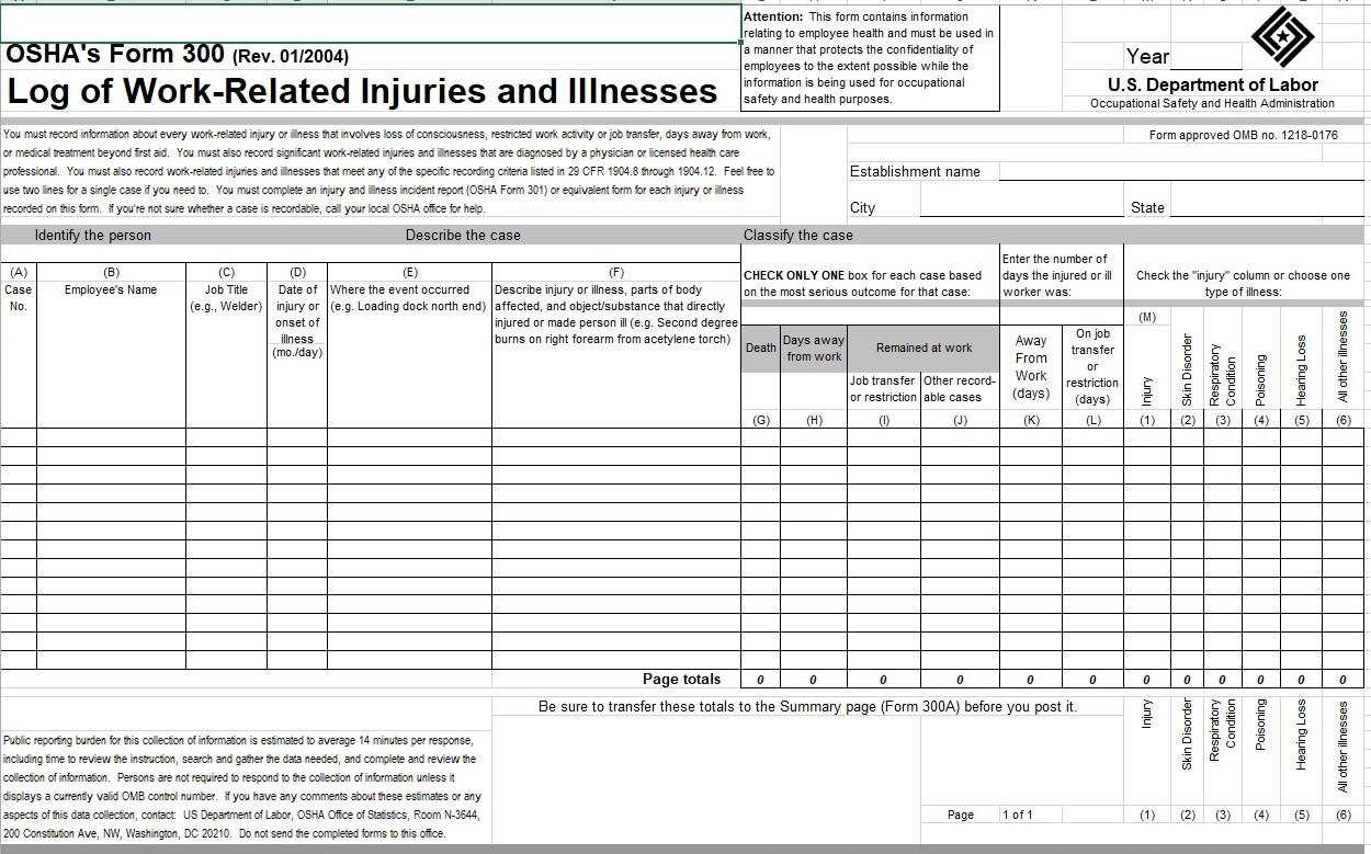 OSHA extends deadline for filing the Form 300 - OSHA extends the deadline for submittal of the 2016 300 form to December 15, 2017. For more information, go to the OSHA web site at www.osha.gov.December 02, 2017