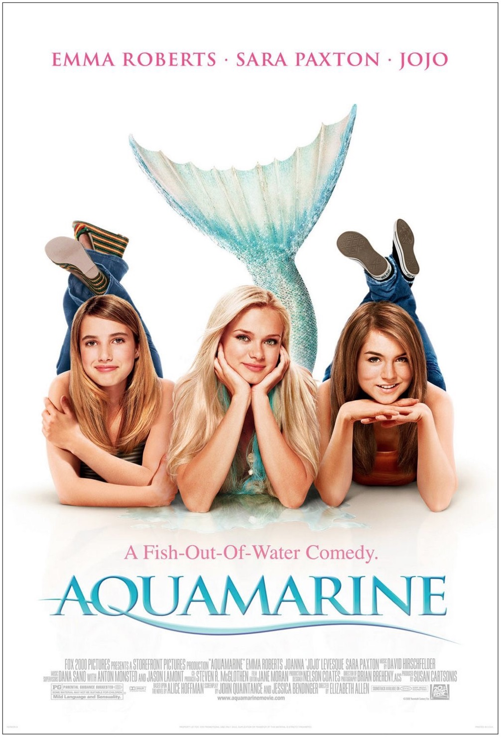 Two teenage girls discover a mermaid in their beach club's swimming pool.