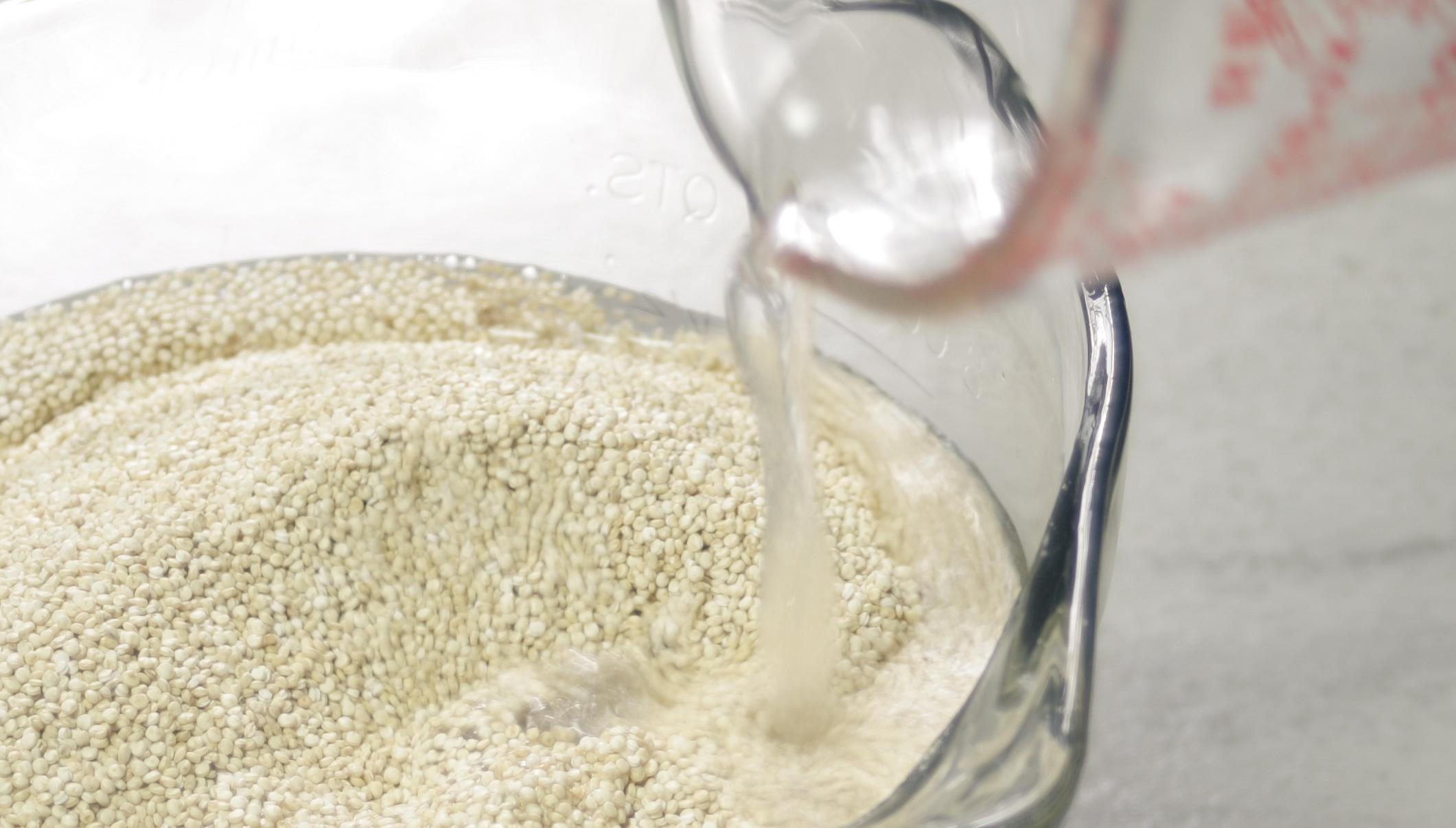 Quinoa Soak