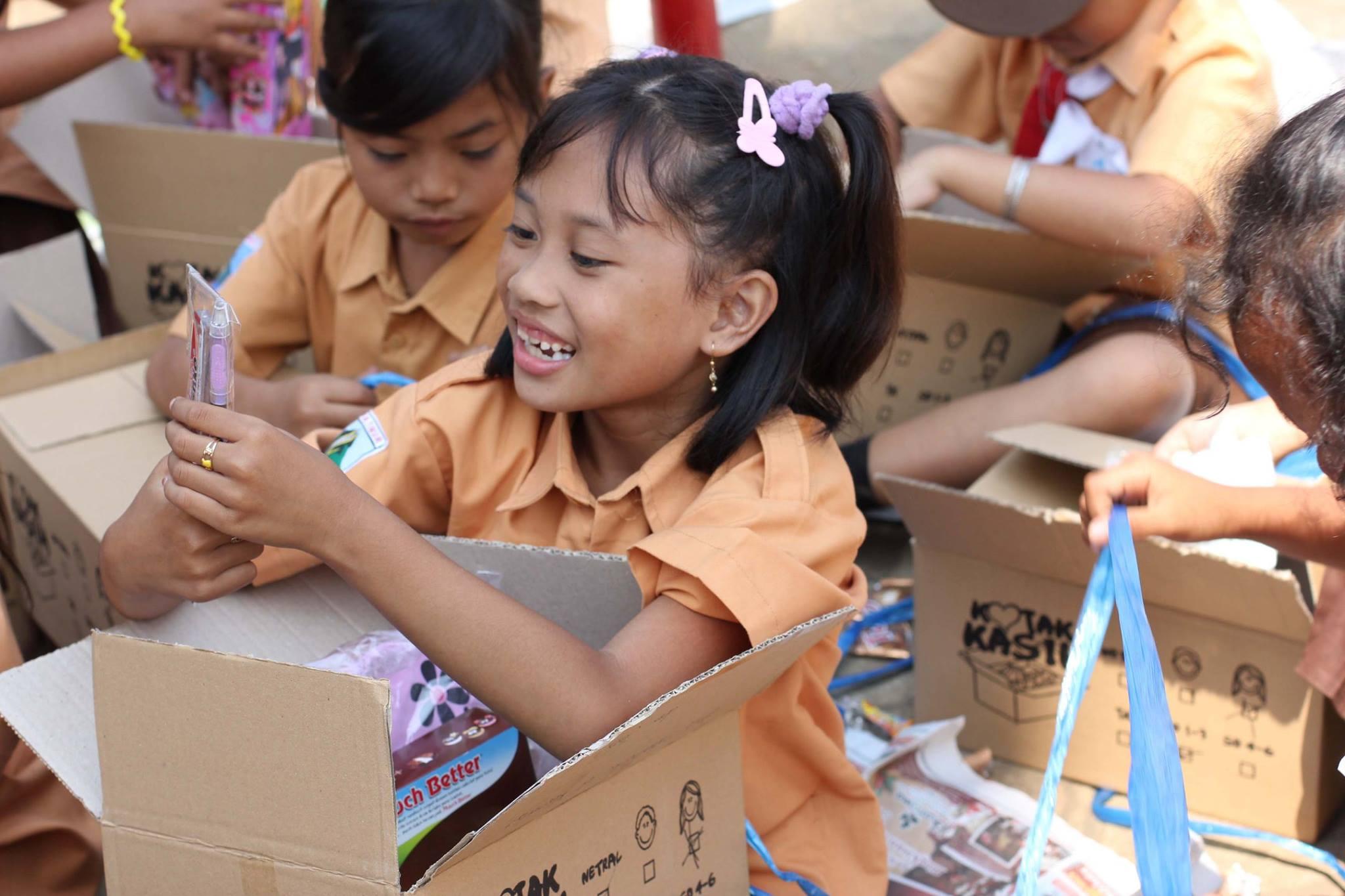 Compassion Box distribution