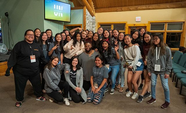 Thank you Pastor Jules! The girls and the boys representing in our first ever full on youth retreat! #unstoppablefaith #unstoppable2019