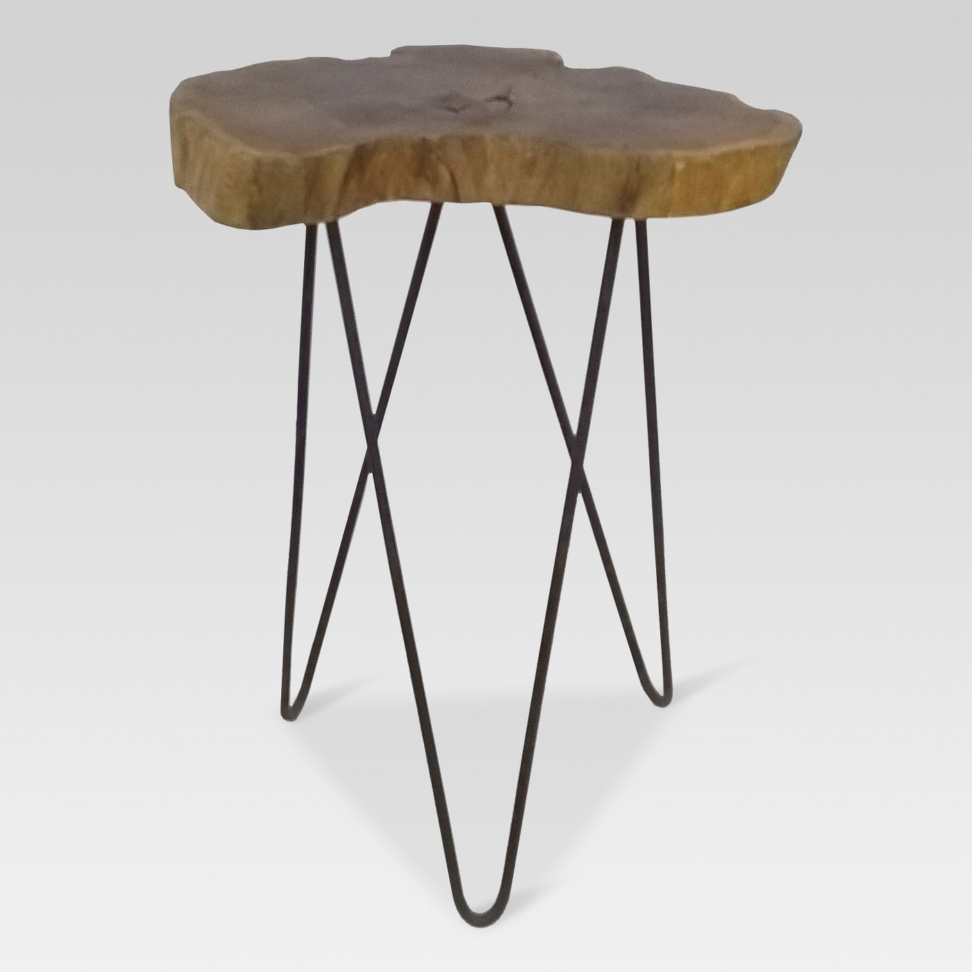 Live Edge Side Table $30