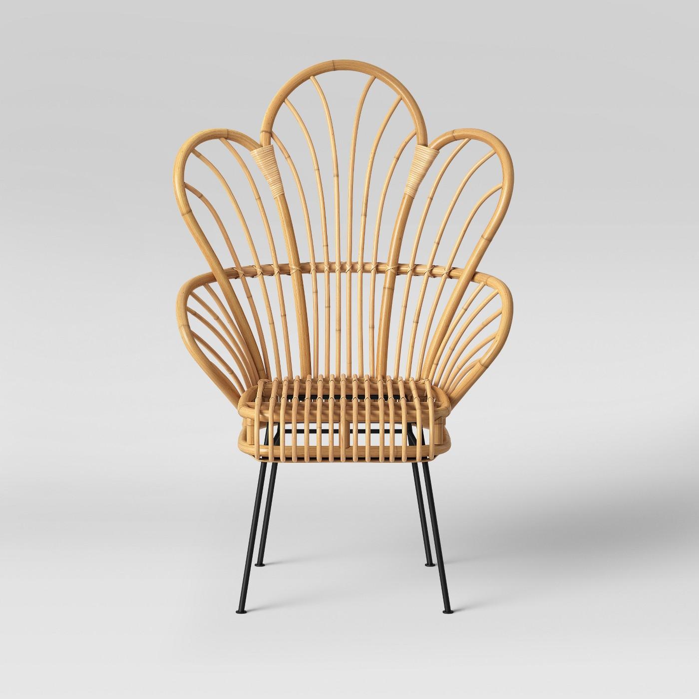 Malay Rattan Chair (2) $55