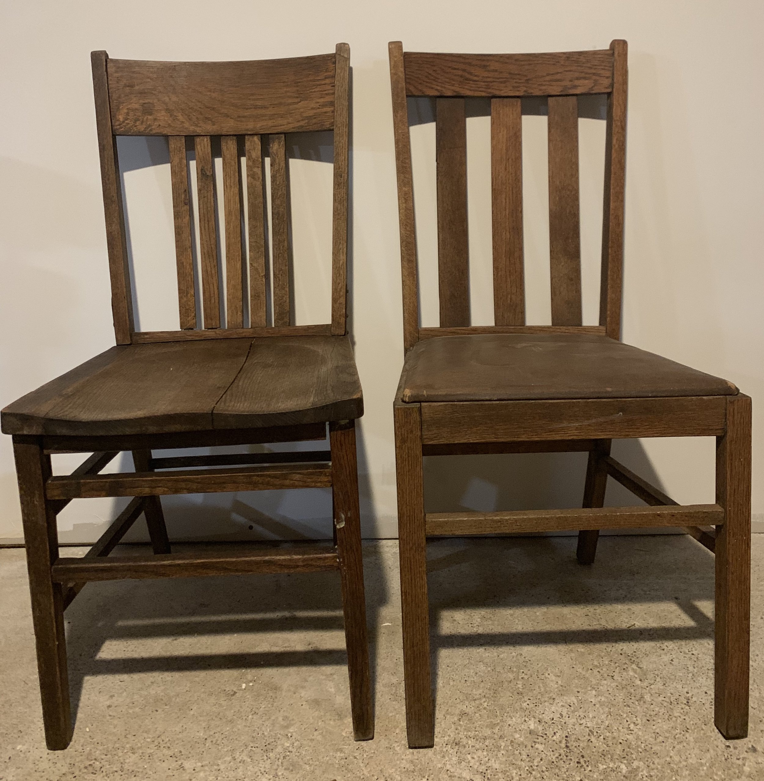 Vintage Wooden Chairs (6) $8ea
