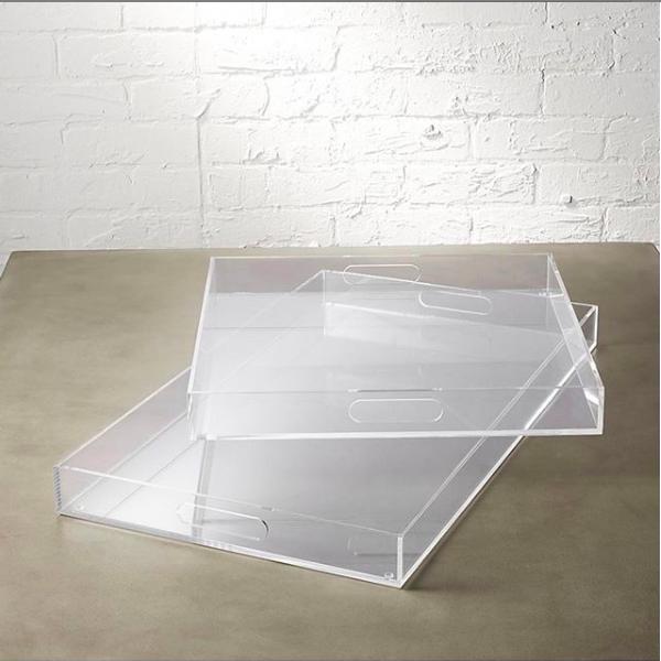 """Acrylic Tray (2) (18""""x14"""") $14ea"""