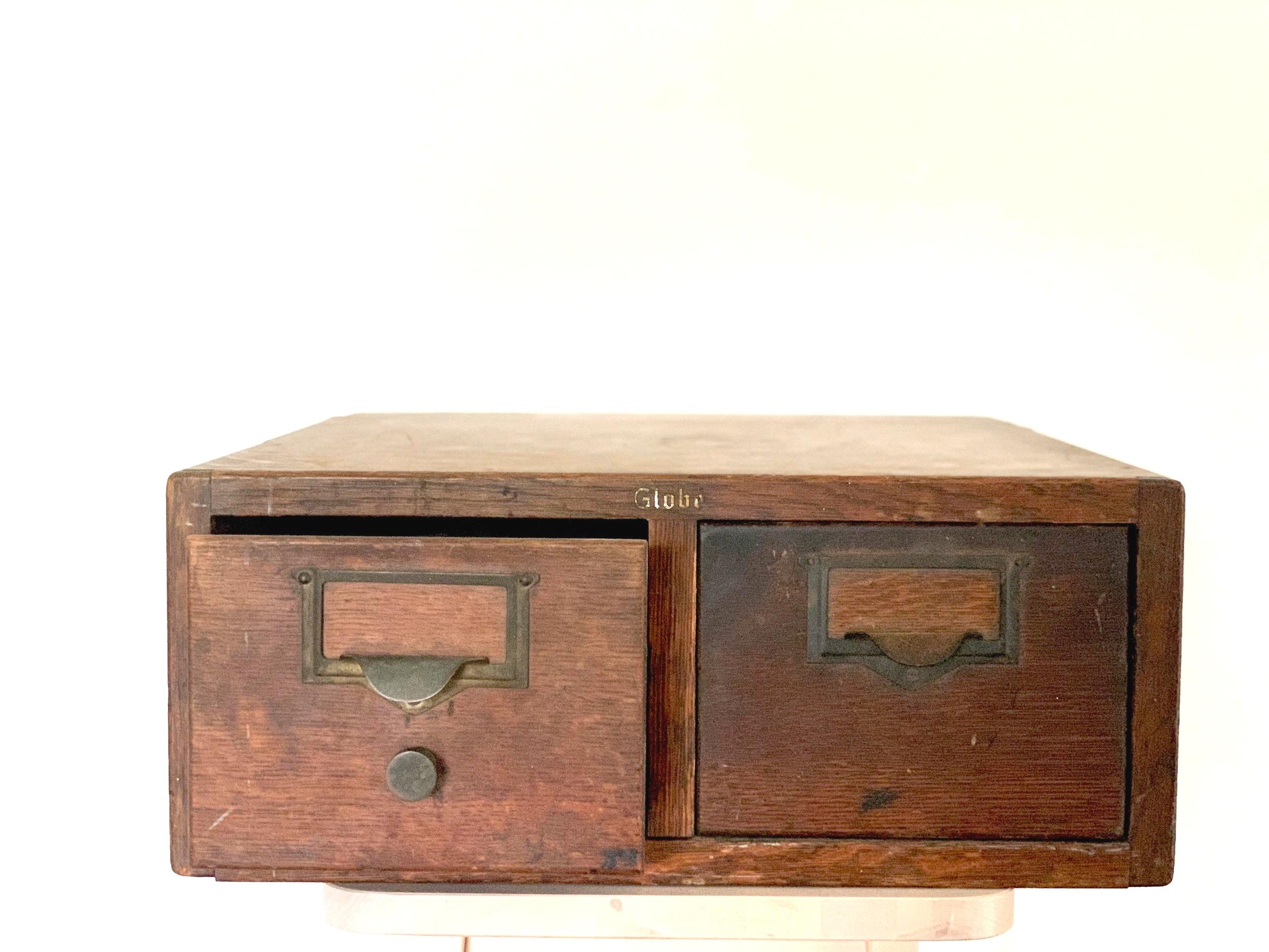 Library File Box $15