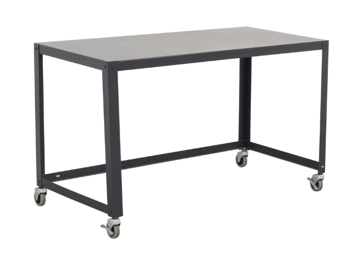Industrial Metal Rolling Table $45