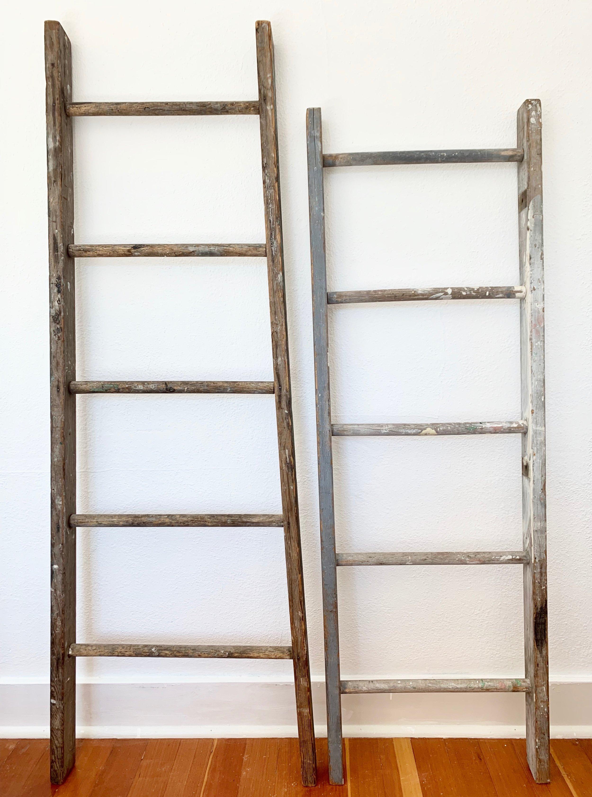 Vintage Ladders (3) $10ea