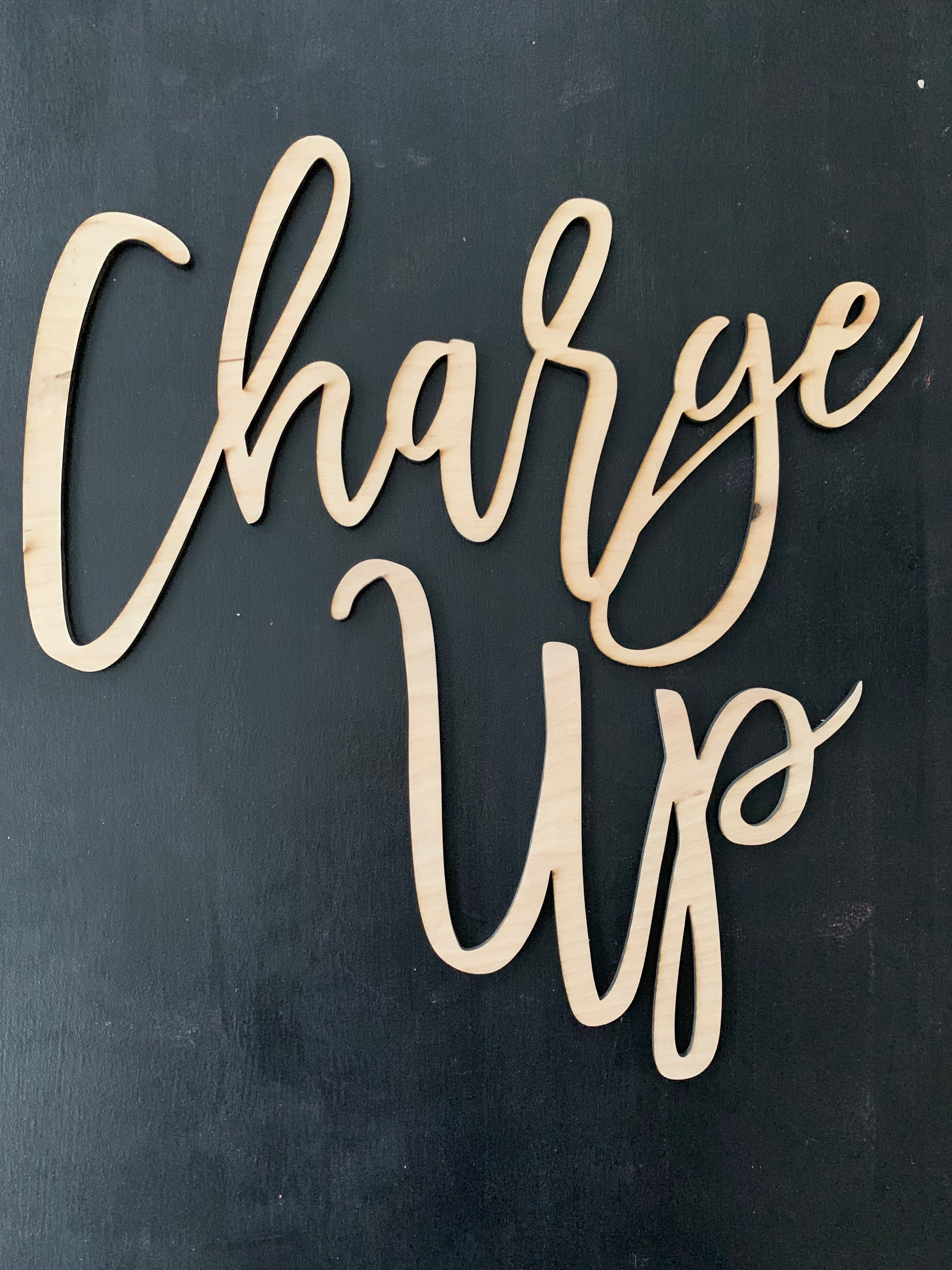 Charge Up Sign (Custom Color)